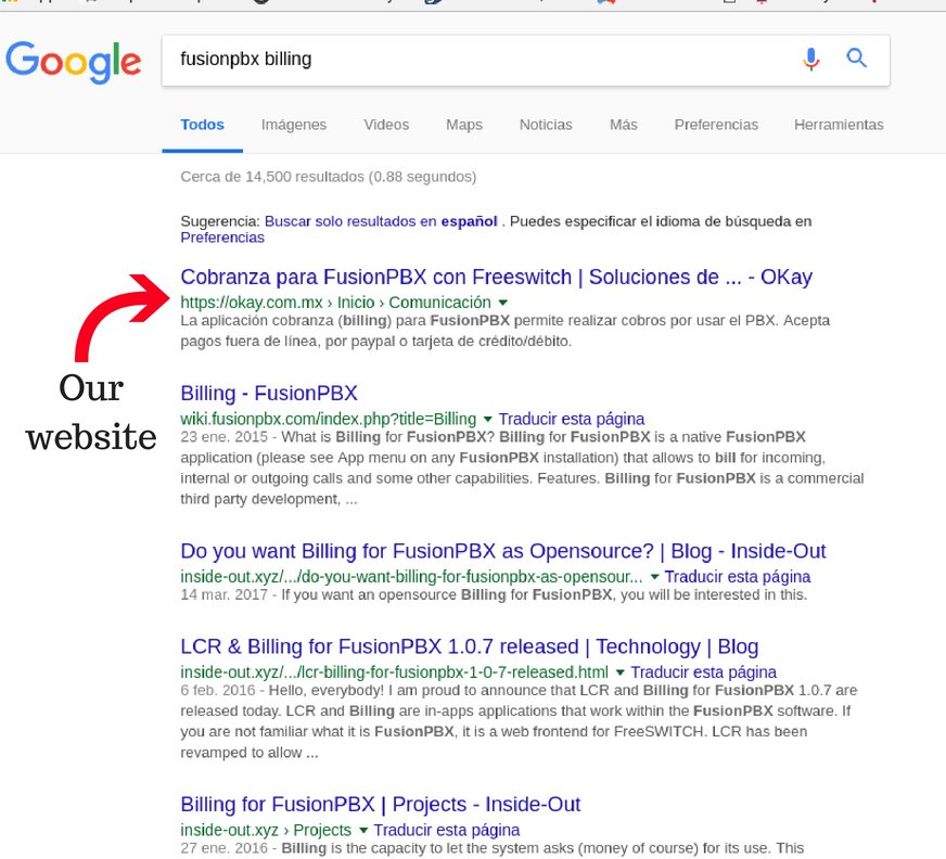 seo optimized showing okay